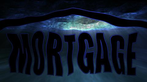 Underwater Housing Mortgage Stock Video Footage