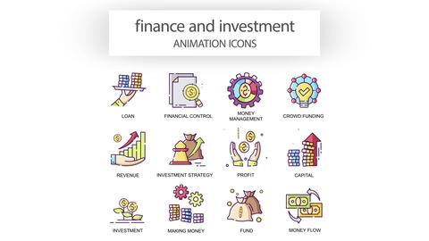 Finance & Investment - Animation Icons After Effects Template