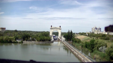 Canal Lock Footage