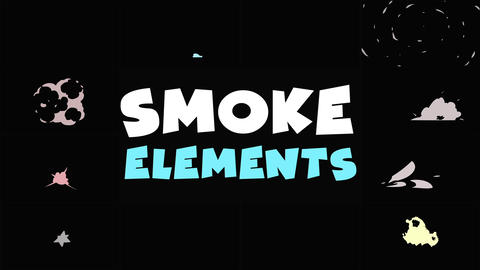Smoke Pack After Effects Template