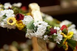 flower decoration 相片