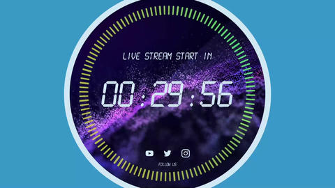Live sreaming timers