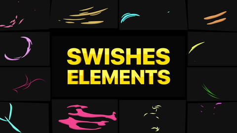 Swishes Pack After Effects Template