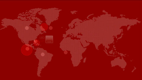 global GPS & search schedule,global strategy,earth…, Stock Animation