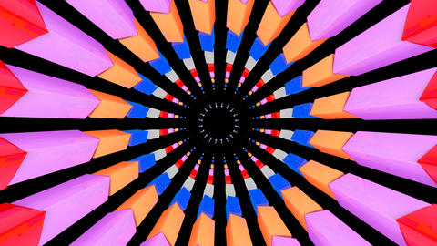 3D sun box rotation with alpha Stock Video Footage