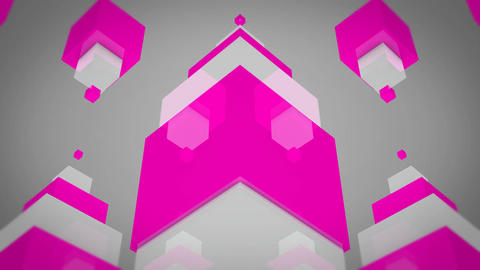 glossy pink box Animation
