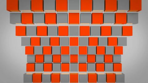 orange check box Stock Video Footage