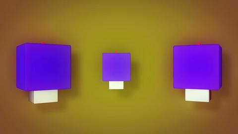 triple box dance Animation