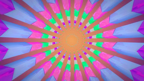 retro teen florist Stock Video Footage