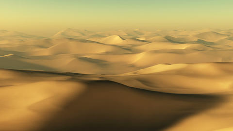 Desert Landscape Animation
