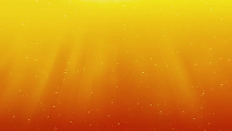 Bubbling beer Animation