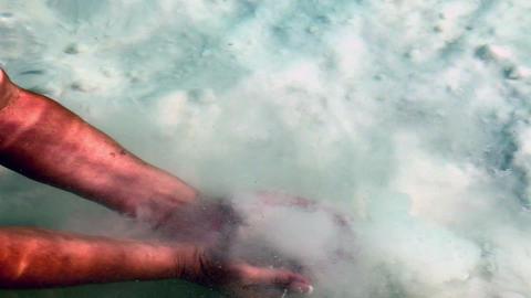 Dead Sea salt Stock Video Footage