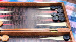 BACKGAMMON Stock Video Footage