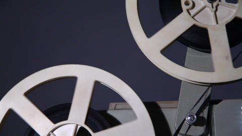 Old projector Stock Video Footage