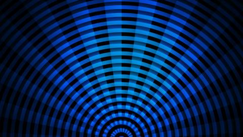 blue fan rays Stock Video Footage