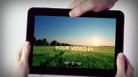 TABLETS After Effects Template