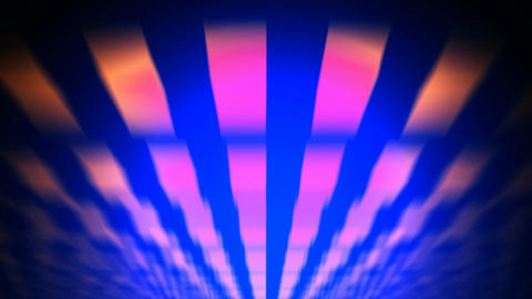 retro flying lights Stock Video Footage