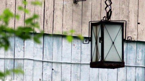 old-fashioned lantern Footage