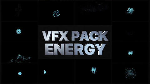 VFX Energy Elements After Effects Template