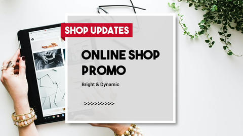 Online Shop Promo Slideshow