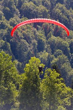 paraglider ภาพถ่าย