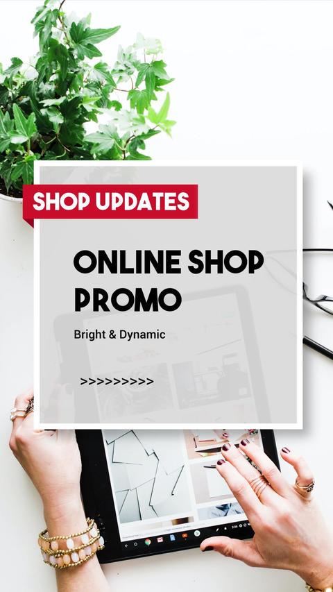 Online Shop Vertical Promo Slideshow