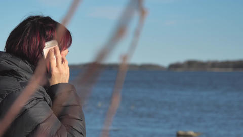 The lady arguing to her employer over the phone in Finland Live Action