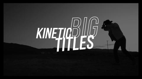 Kinetic Typography Titles Apple Motion Template