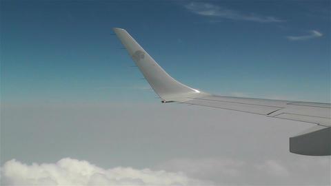 Aero Mexico Flight aerial Stock Video Footage