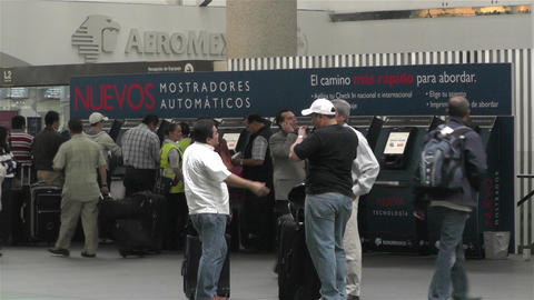 Benito Juarez Airport Domestic Terminal Mexico City 4 Footage