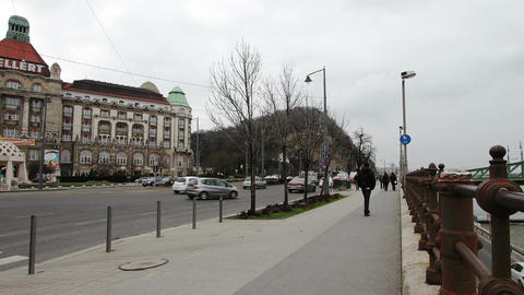 Budapest Hungary Winter Timelapse 1 Footage