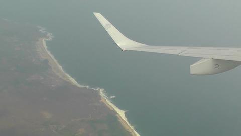 Coast of Oaxaca South Mexico aerial 1 Footage