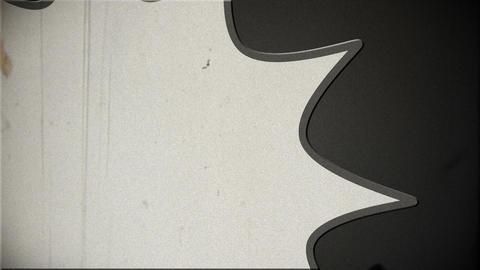 Comic Design v 2 3 vintage Stock Video Footage