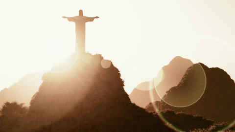 Corcovado Sunset 2 Animation
