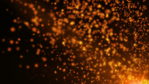 Fairy Tale Magic Particles 6 Stock Video Footage