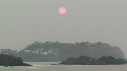 Hazy Tropical Morning 2 Stock Video Footage
