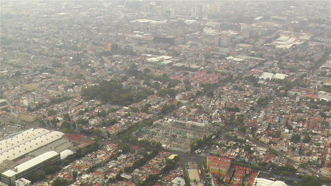 Mexico City Aerial 2 Footage
