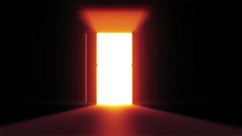 Mysterious Door 2 Stock Video Footage