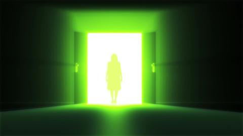 Mysterious Door 8 yurei Animation