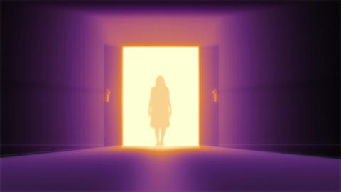 Mysterious Door 10 yurei Animation