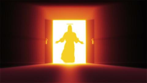 Mysterious Door 12 jesus Animation