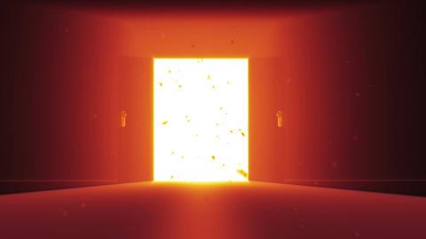 Mysterious Door v 2 2 Stock Video Footage