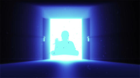 Mysterious Door v 2 13 buddha Animation