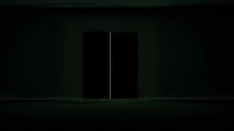 Mysterious Door v 4 3 Stock Video Footage