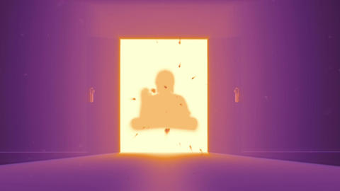 Mysterious Door v 4 15 buddha Animation