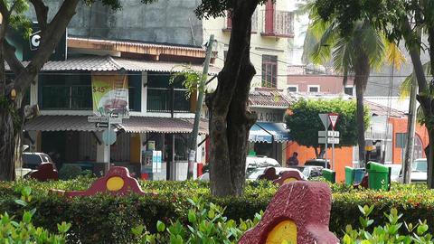 Oaxaca Crucecita Town Mexico 2 Footage