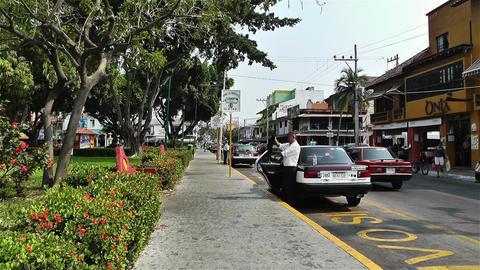 Oaxaca Crucecita Town Mexico 8 Footage