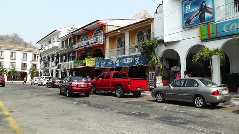 Oaxaca Crucecita Town Mexico 20 Stock Video Footage
