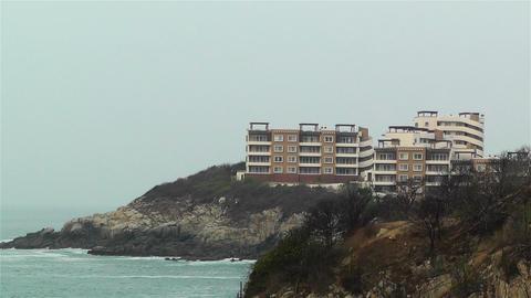 Resort Hotel in Oaxaca Stock Video Footage
