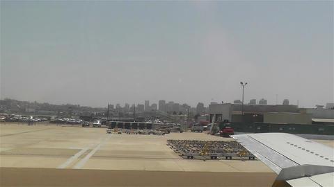 San Diego Airport Flight Running to Gate 1 Footage